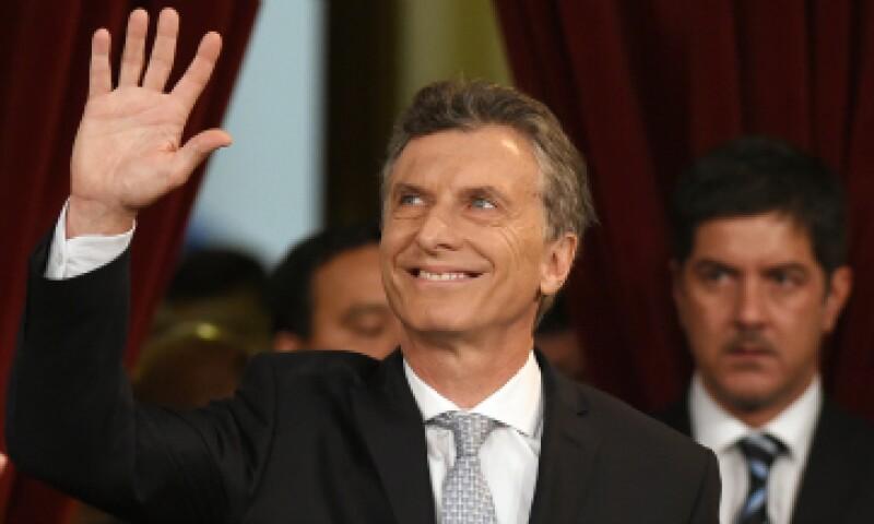 El nuevo presidente de Argentina promete un giro en su país. (Foto: AFP)