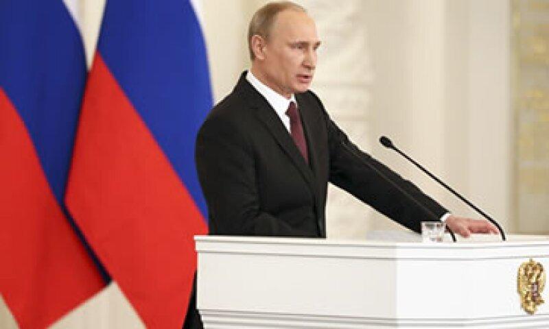 Putin busca calmar los temores en Europa por el gas. (Foto: Reuters)