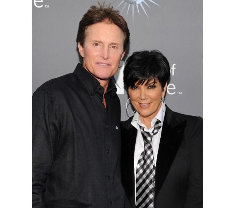Bruce y Kris Jenner tomaron la decisión de separarse esta semana.