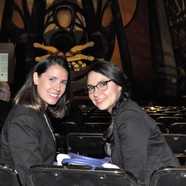 Paola Alarcón y Mariana Pérez