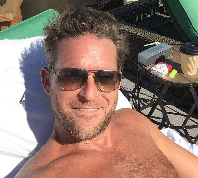 Él es Colby Kirmse, el ex novio de la modelo.