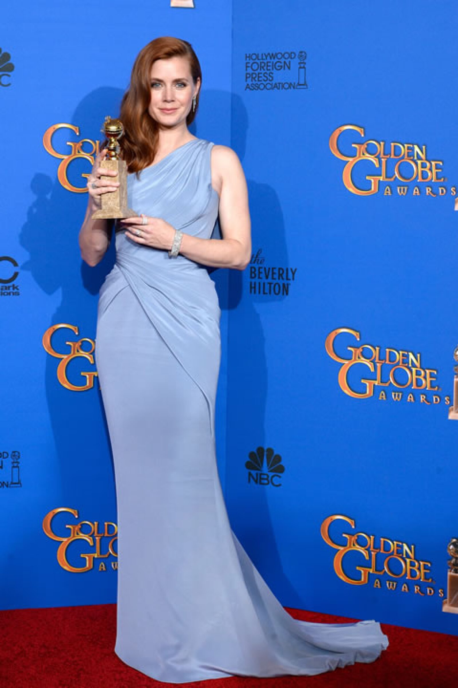 La Mejor actriz en una película de comedia fue para Amy Adams por Big Eyes.
