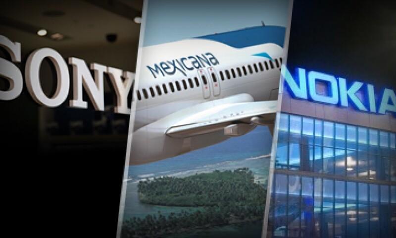 Vaio de Sony y Mexicana fueron algunas marcas que desaparecieron. (Foto: Especial)