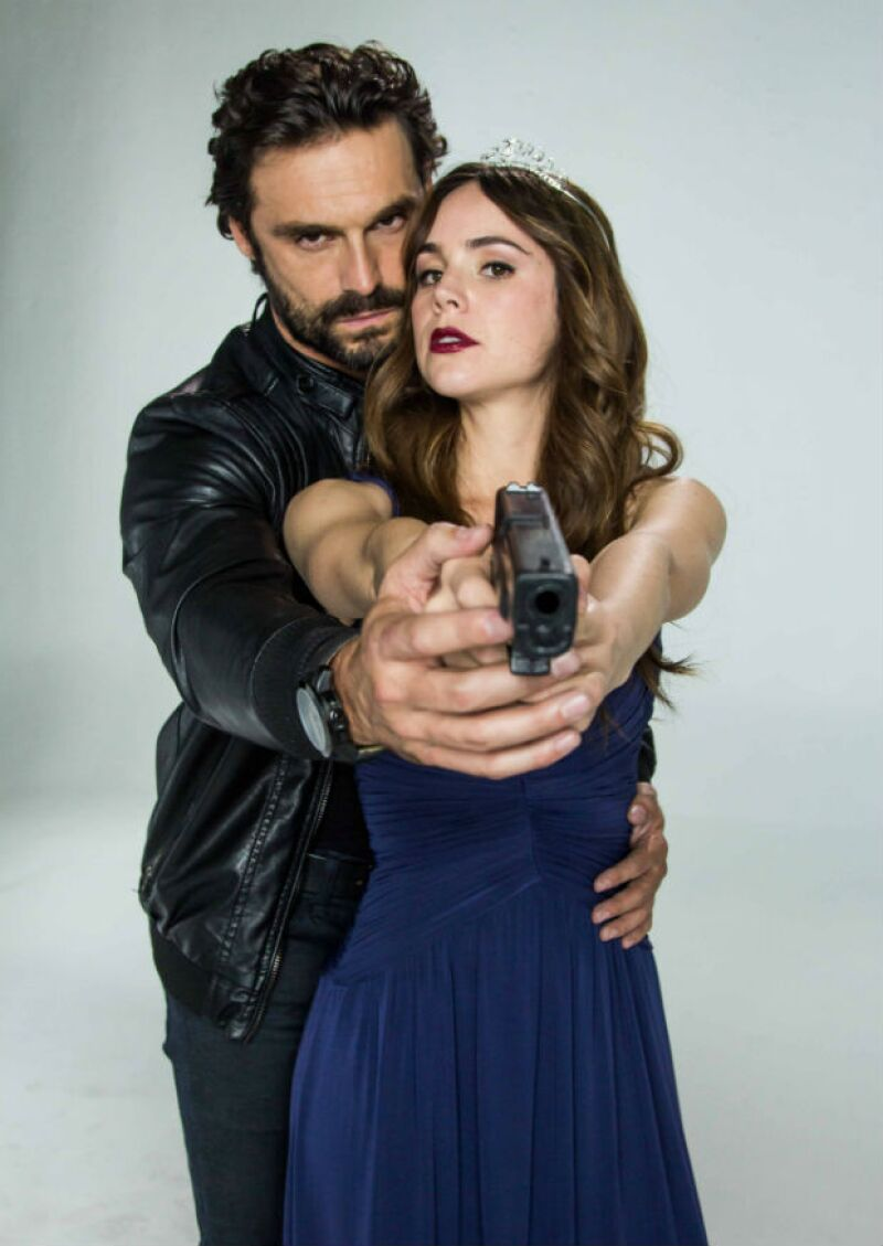 Iván Sánchez comparte el papel protagónico en la serie Señorita Pólvora.
