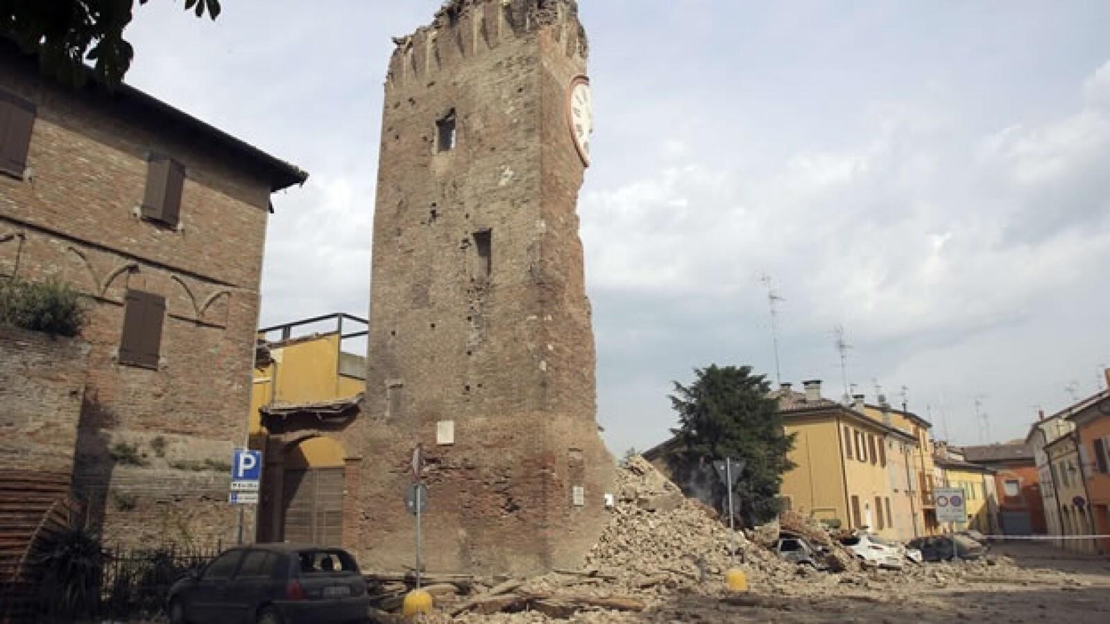 Un sismo de 7 grados remece el norte de Italia