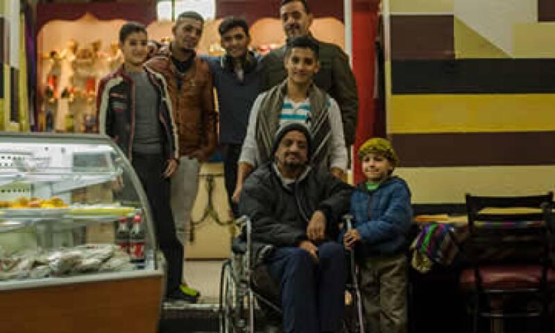 La familia Taleb tuvo la oportunidad de venir a México con ayuda de familiares. (Foto: Jesús Almazán )