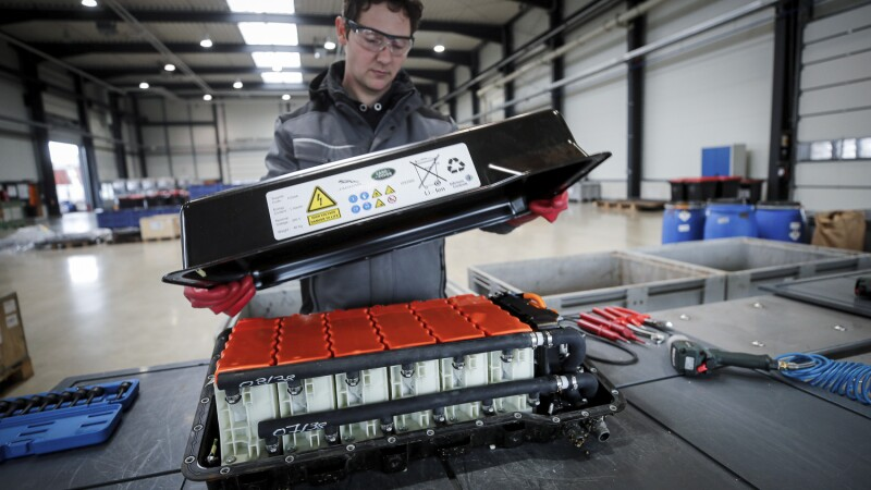 Batería de litio autos
