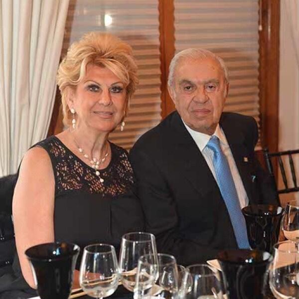 Patricia y Antonio Marbez.