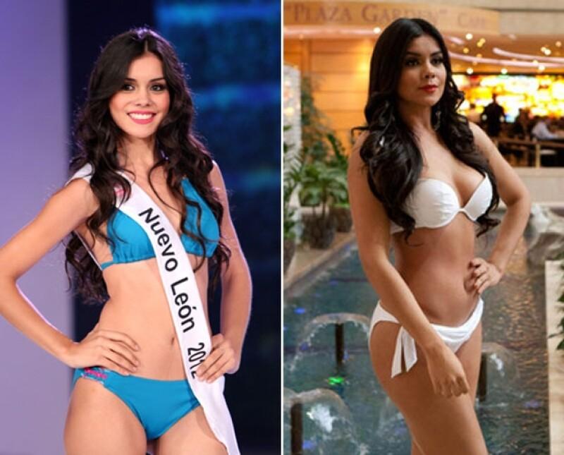 La representante de México en Miss Universo Moscú ha cambiado considerablemente desde que obtuvo el título de Nuestra Belleza México 2012.