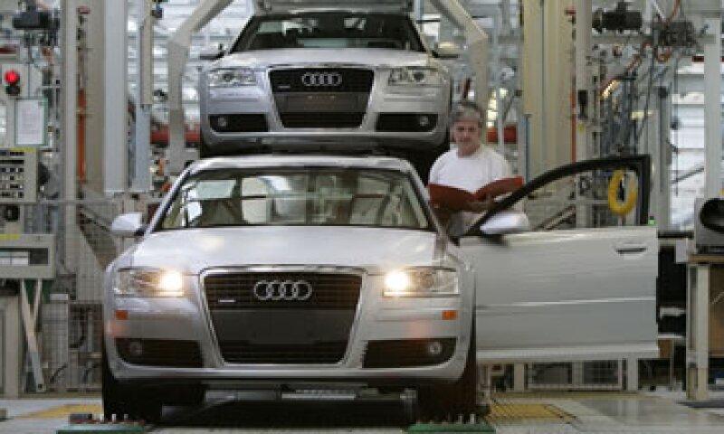 Las ventas de Audi en lo que va del año aumentaron 12.1%, a 600,200 unidades. (Foto: Reuters)