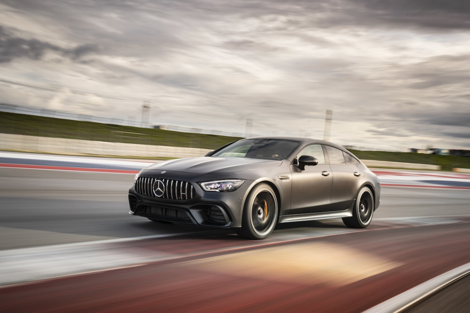 Mercedes-AMG GT 63 S 4MATIC+ 4-Door Coupé. Austin 2018