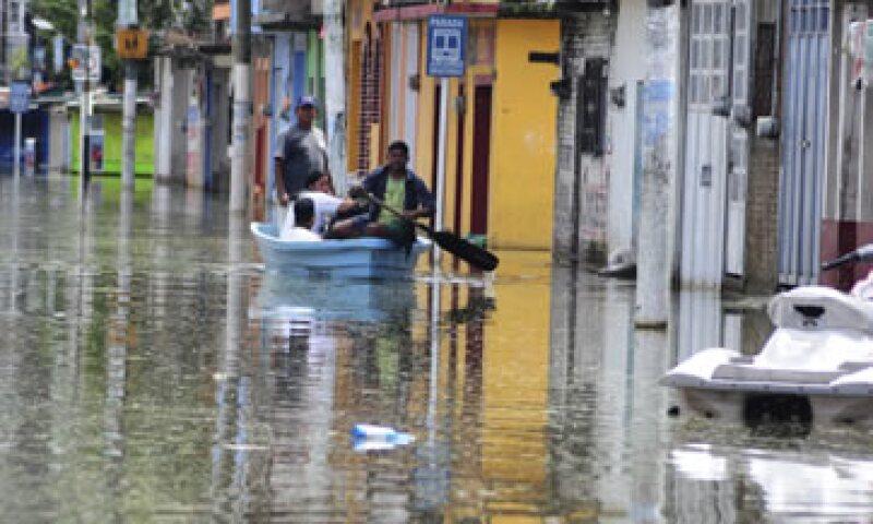 Los empresarios sugieren un programa temporal del empleo en las comunidades dañadas por las recientes tormentas. (Foto: Cuartoscuro)