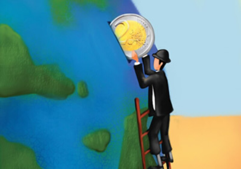 """El porcentaje en bancos centrales de """"otras divisas"""", que excluye dólar, euro, yen, libra esterlina y franco suizo, aumentó a 4.4% desde 4% en el tercer trimestre de 2010. (Foto: Photos to go)"""