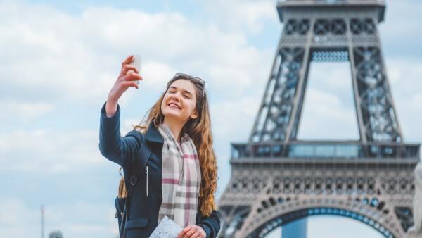Selfie en París