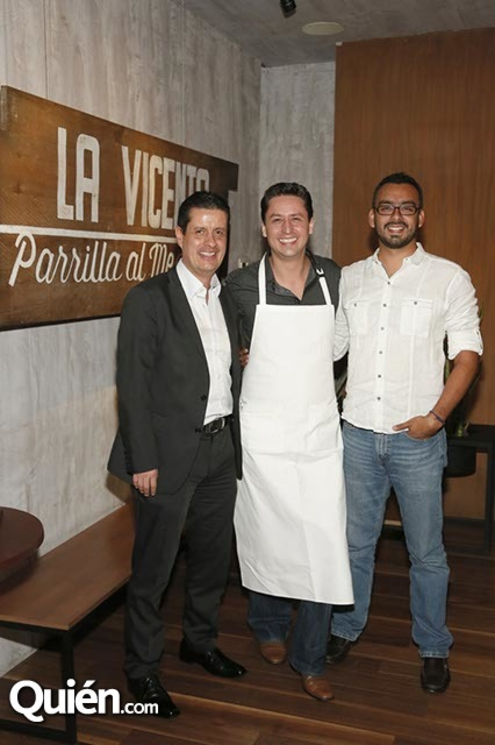 Luis García,Alonso de Regil y Francisco Muñoz