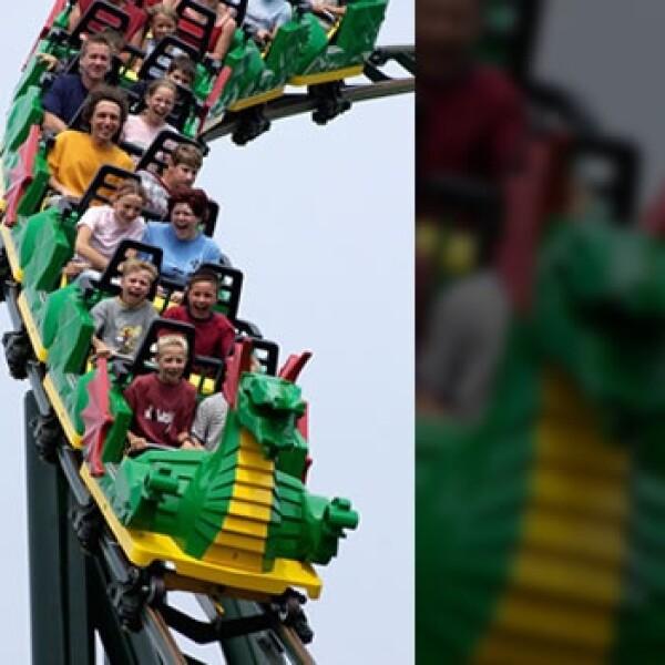 montaña rusa Legolandia Malasia