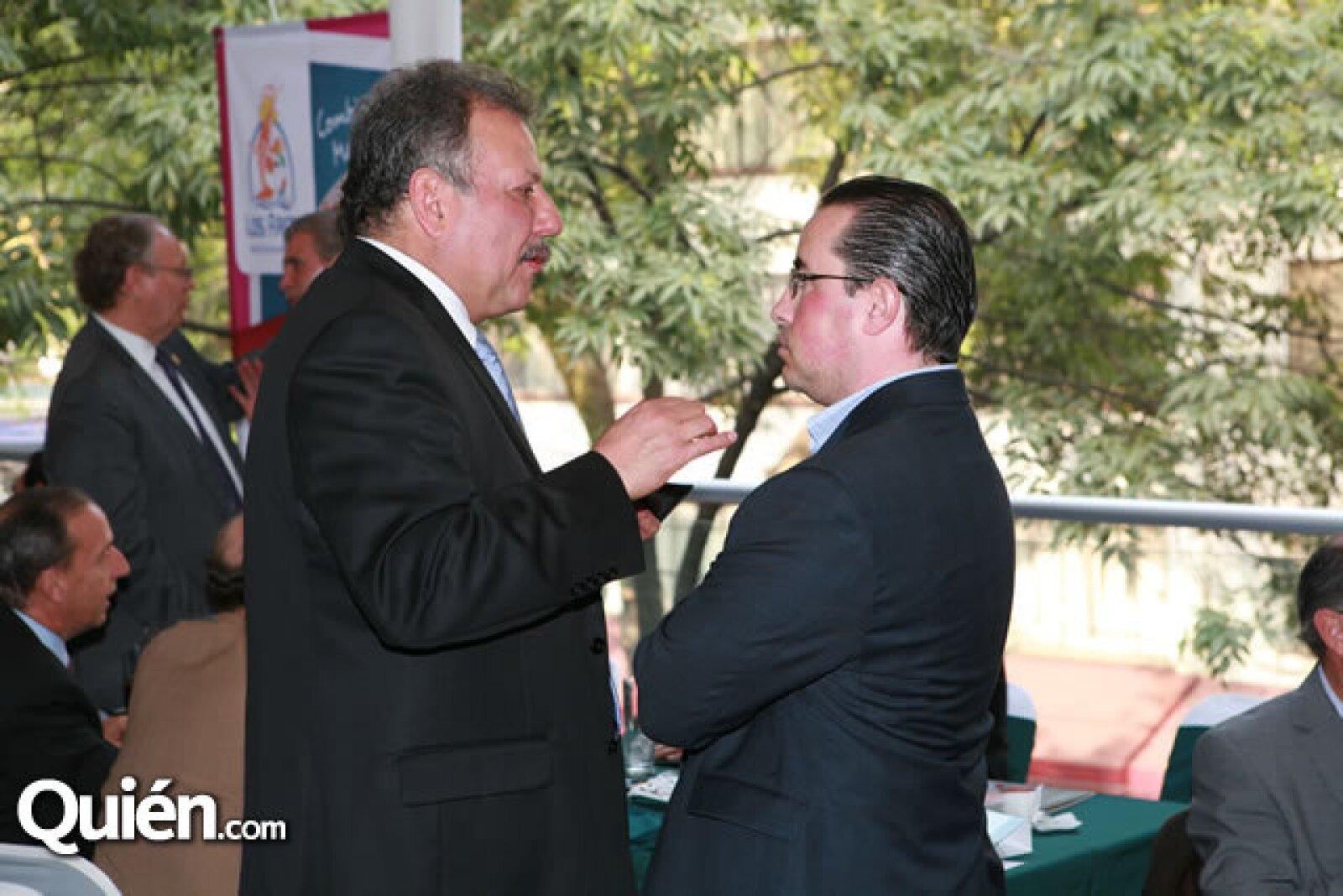 Jorge Duran y Andrés Gay
