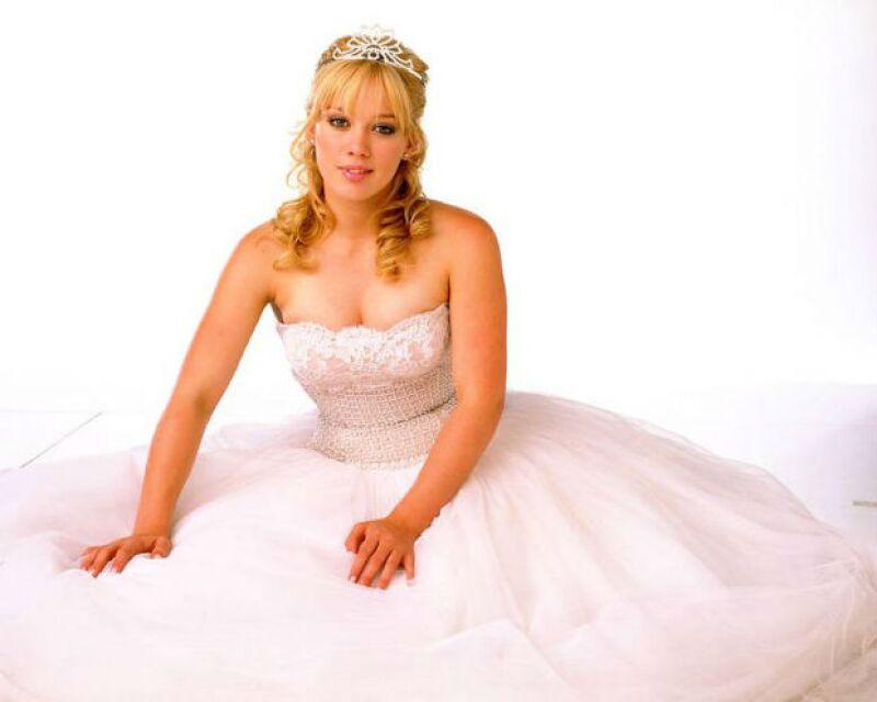 Hilary Duff protagonizó la primera película de la trilogía moderna de Cinderella Story.