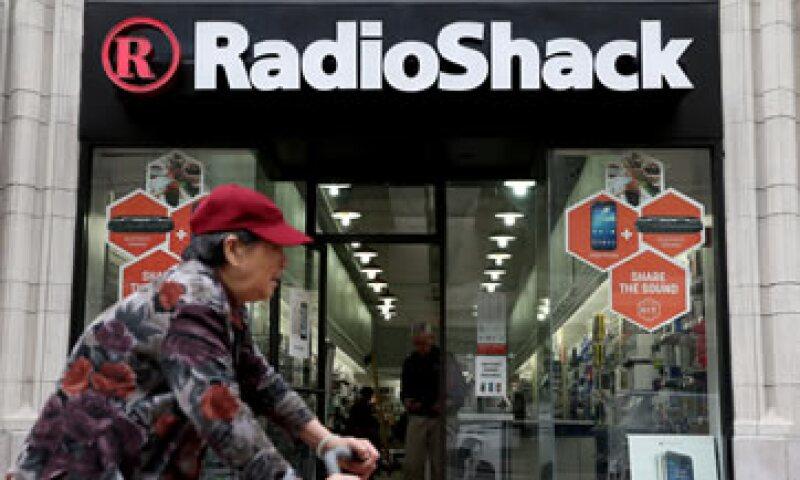 RadioShack intentó cerrar 1,100 tiendas este año pero rebajó la cifra a 200 (Foto: Getty Images)