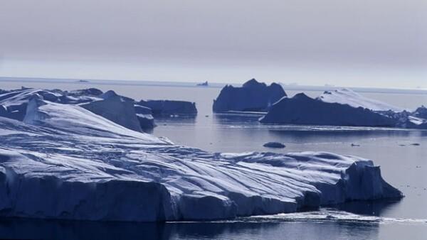 Groenlandia hielo glaciares