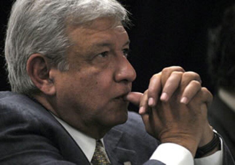 Andrés Manuel López Obrador presentó su Proyecto ALternativo de Nación en el encuentro con empresarios. (Foto: Notimex)