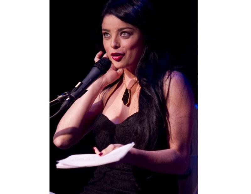 La joven actriz forma parte de esta puesta en escena misma que ha tenido a varias actrices como Salma Hayek en sus filas.