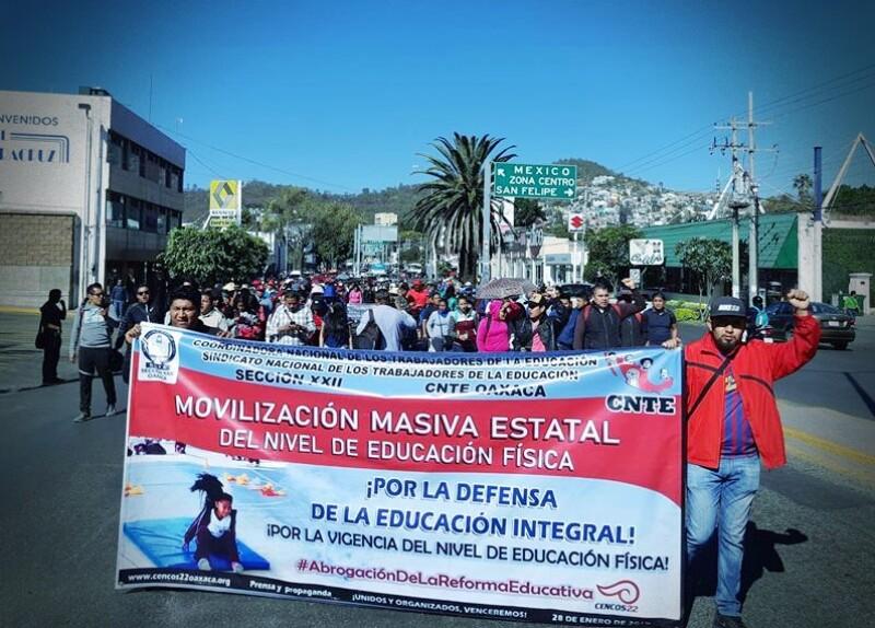 CNTE Oaxaca