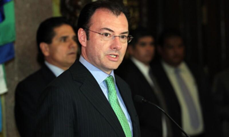 Los amparos que se promuevan son un proceso normal del sistema jurídico, dijo Videgaray. (Foto: Notimex)