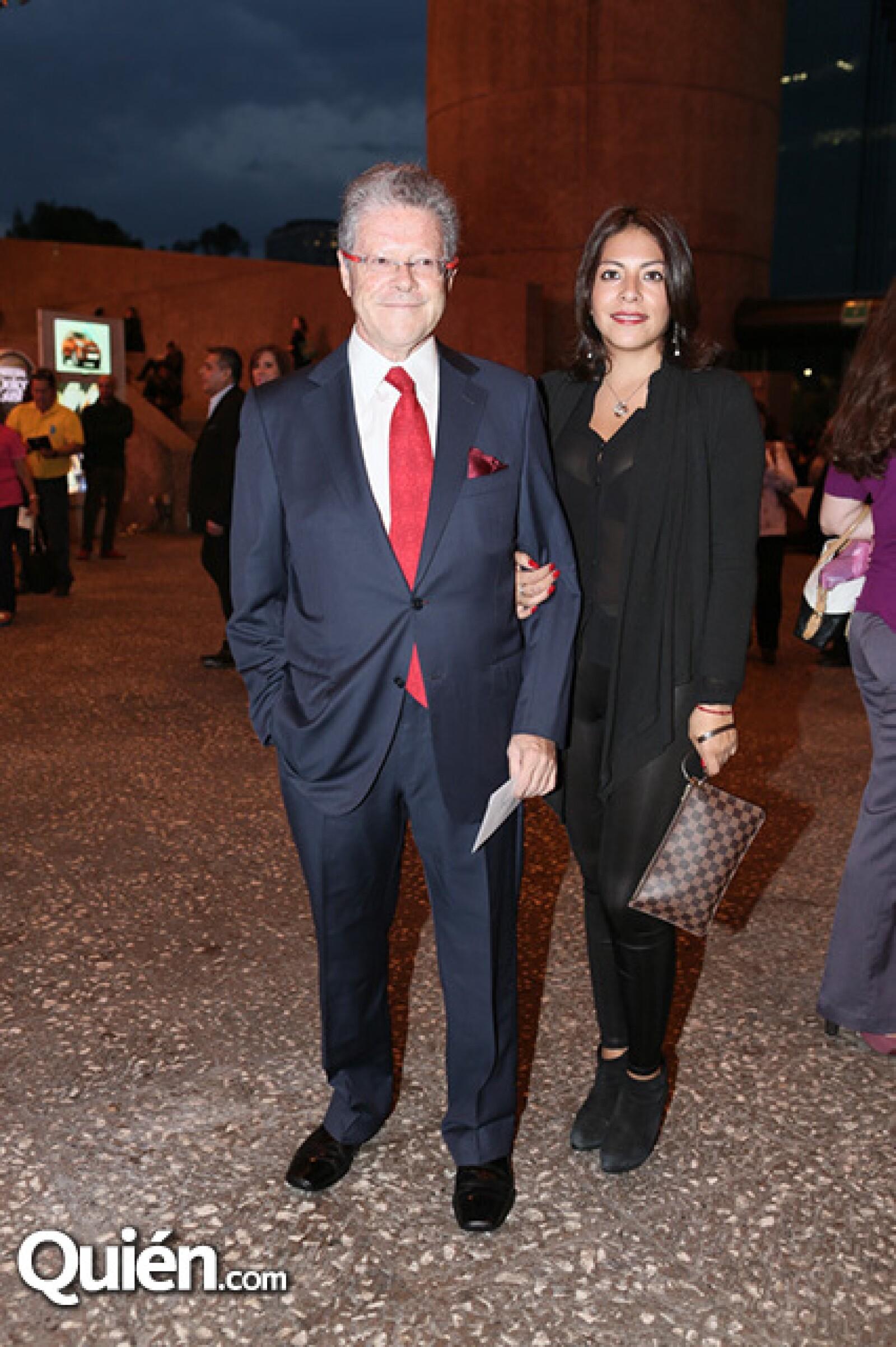 Sergio Sarmiento y Joselyn Zurita