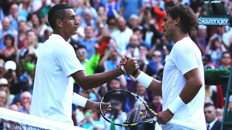 Nick Kyrgios Rafael Nadal Wimbledon