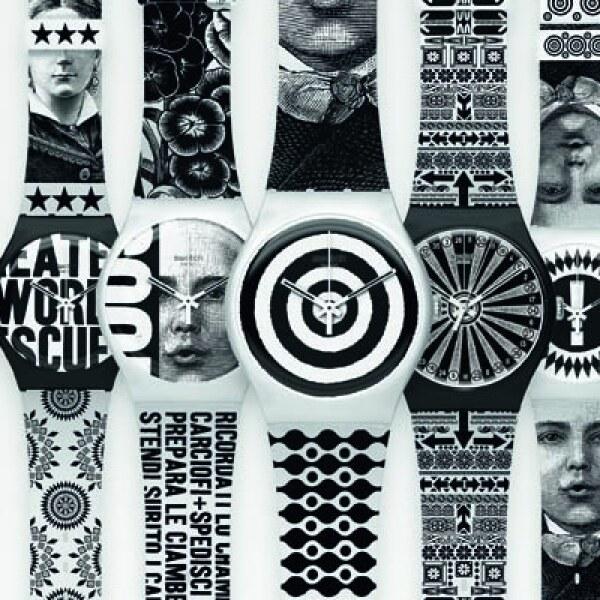 Swatch presentó una nueva colaboración con el artista Lorenzo Petrantoni, cuyo trabajo es reconocido por una combinación de gráficos y estampados.