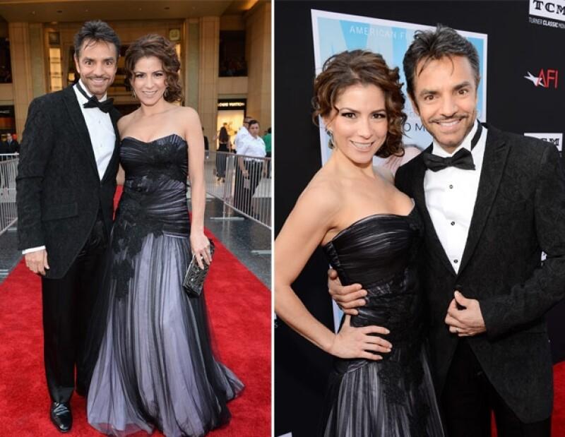 Eugenio y Alessandra acudieron a los premios AFI ayer celebrados en Los Ángeles, California.