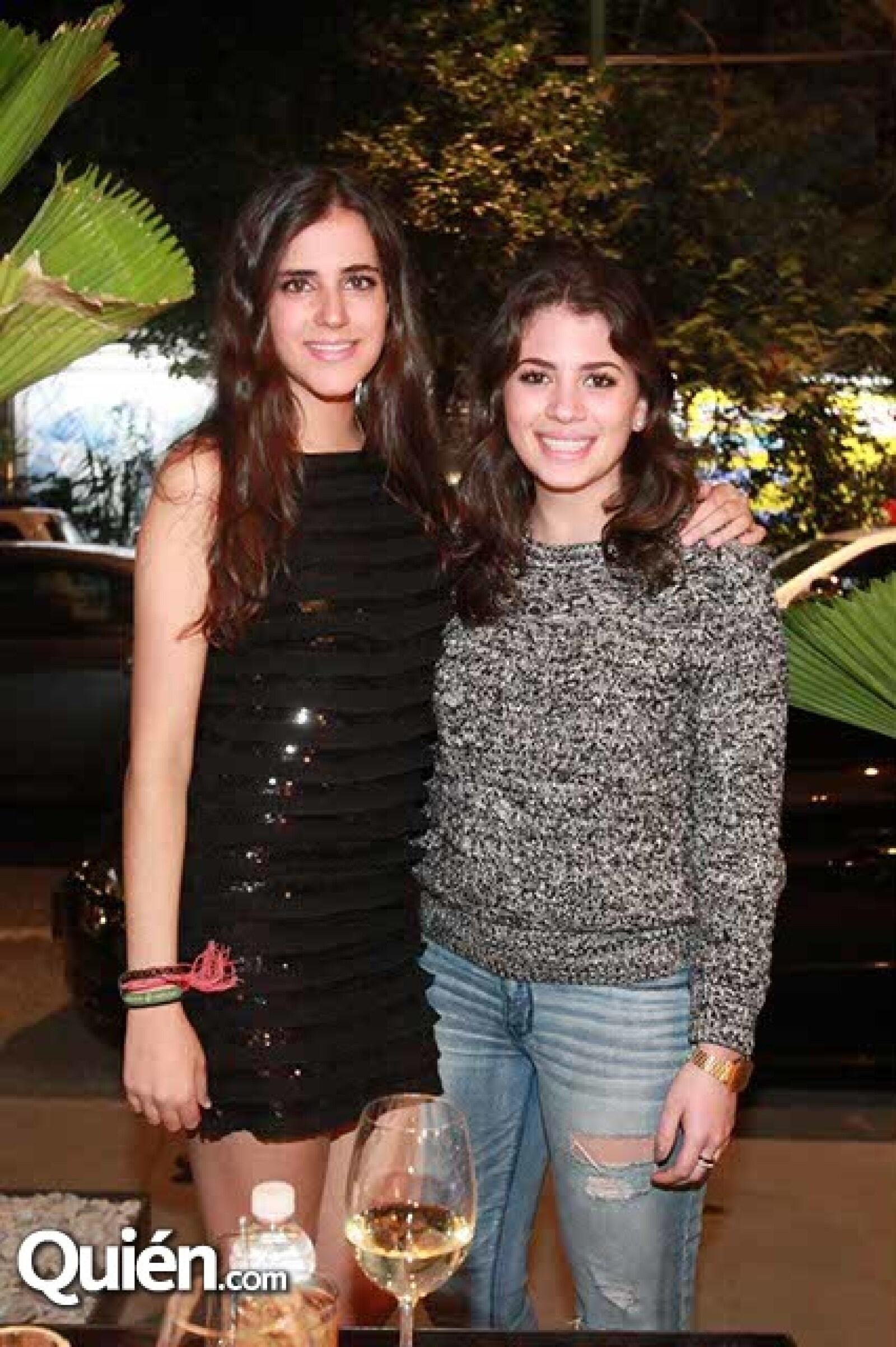 Michelle Hakim y Andrea Tamer