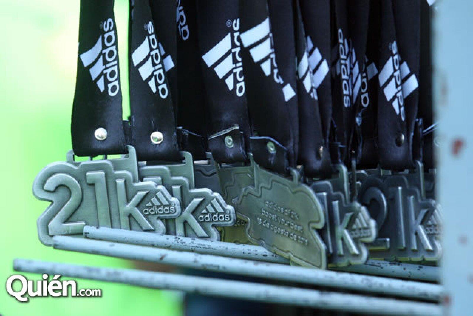 Medallas Adidas
