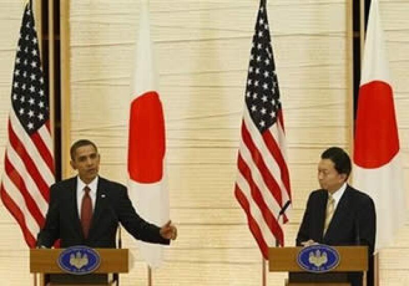 Obama y Hatoyama líderes estuvieron de acuerdo en que es vital que Irán y Corea del Norte respondan a sus obligaciones internacionales referentes a sus respectivos programas nucleares. (Foto: AP)