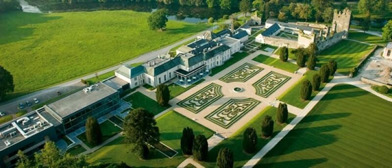 Vista aéres del Castlemartyr Resort
