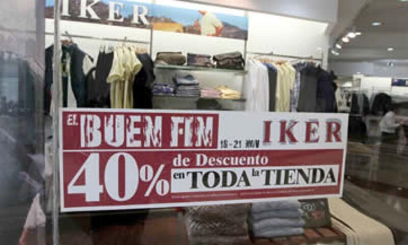 """El sector espera generar más empleos formales para el próximo año si se cambia la fecha de """"El Buen Fin"""". (Foto: Notimex)"""