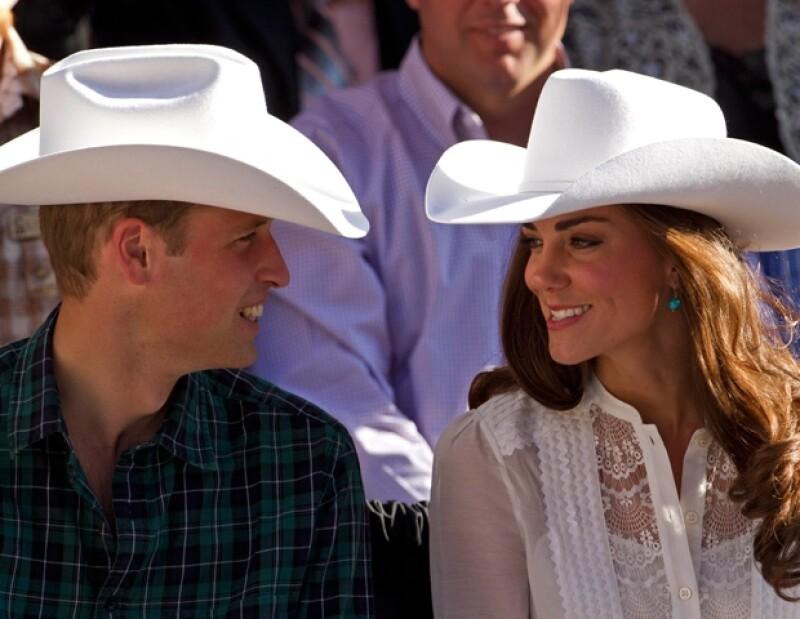 Luego de su visita oficial en Canadá se dirigieron a Los Ángeles.