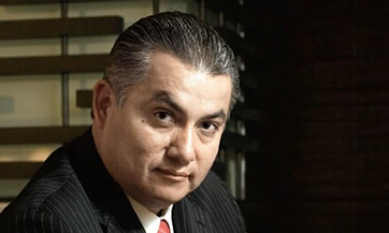 Alfredo Paredes, ceo de Capitol Consulting & Communication México, lamenta la mala calidad del debate. (Foto: Gilberto Contreras)