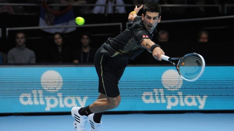 djokovic londres tenis federer