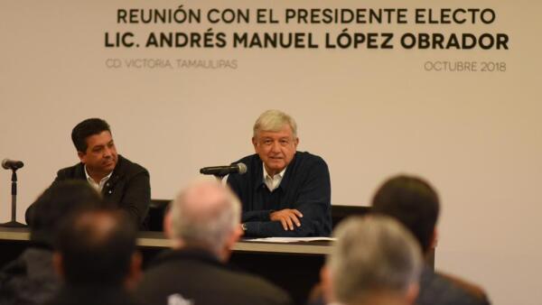 AMLO en Tamaulipas
