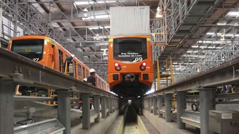 trenes linea 12 Metro