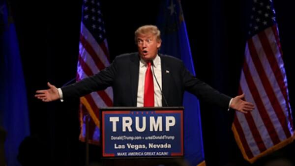 Trump ha tenido un intenso 2015 como precandidato presidencial republicano. (Foto: Getty Images/Archivo )