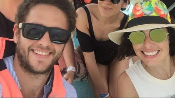 Ana Serradilla y Christopher Uckermann