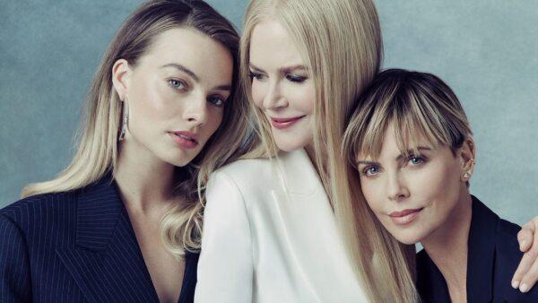 Marggot Robbie, Nicole Kidman y Charlize Theron