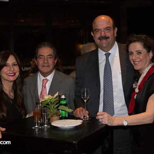 Estela y Pedro del Villar,Susana Quintanilla y Carlos Acedo