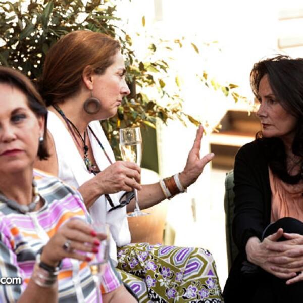 Cristina Helguero y Macarena Gutiérrez