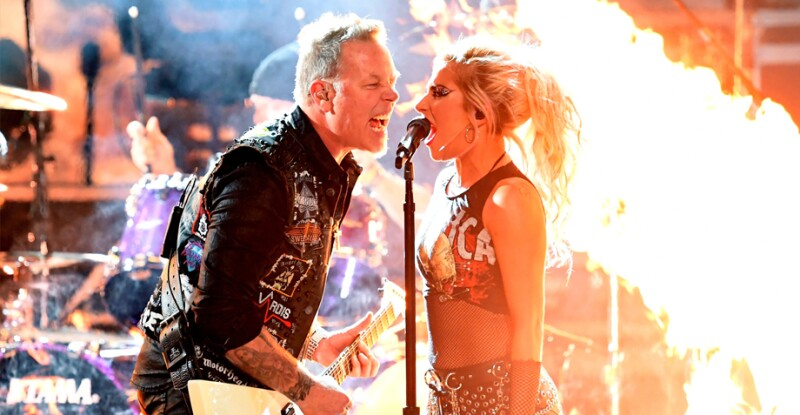 Metallica y Lady Gaga