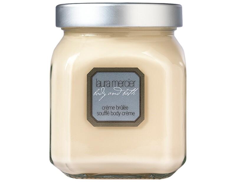 Crème Brûlée Soufflé Body Créme, Laura Mercier, $940; El Palacio de Hierro.