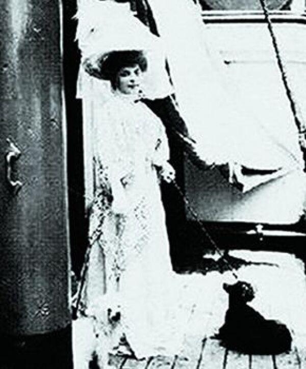 La princesa rusa Vilma Lwoff-Parlaghy iba de visita y le gustó tanto que se quedó cinco años.